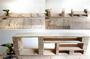fabriquer meuble tv les meilleures id 233 es diy