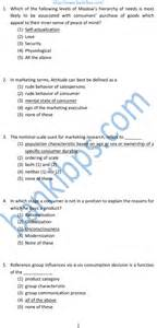 marketing aptitude test questions and answers