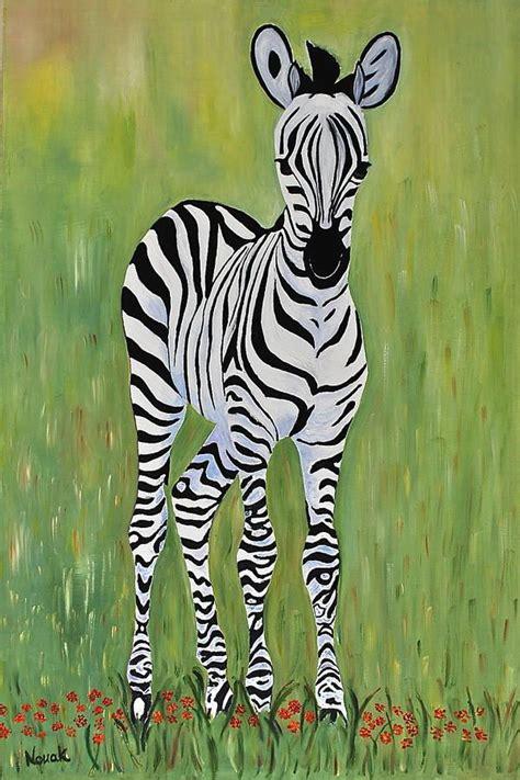 oil paintings printing for sale zebra canvas prints modern baby zebra print by dorota nowak