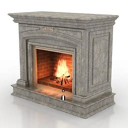 Fireplace 3d by 3d Fireplaces Fireplace N160211 3d Model 3ds For