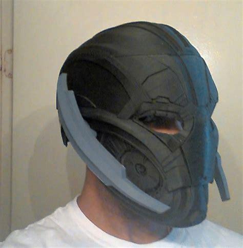 printable ultron mask 3d printing yields kick ass ultron helmet article fri