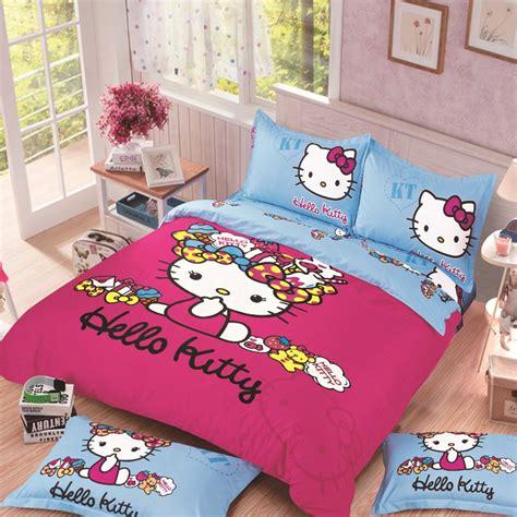 hello kitty full size bedding full size hello kitty 5 bedding set duvet cover pillow