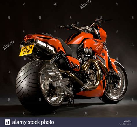 Yamaha Motorrad Chopper by Bright Orange Yamaha V Max Vmax Bike Custom Cruiser