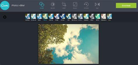 canva edit موقع canva photo editor لإضافة التأثيرات والفلاتر على الصور