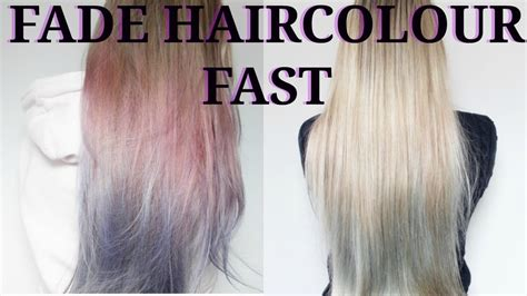 does permanent hair color fade how to fade l oreal colorista hair colour fast