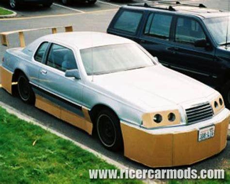 cardboard bodykit