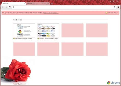 rose themes for google chrome 114 best technology google chrome theme s and tip s
