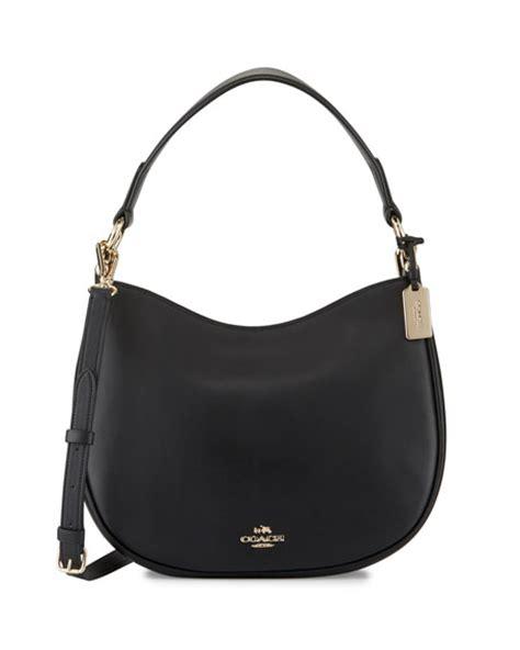 Coach Top Leader In Handle coach nomad leather crossbody bag black in li black nero modesens