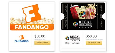 Amc Gift Card Deals 2015 - gift cards w email delivery 20 off fandango regal theaters amc cold stone
