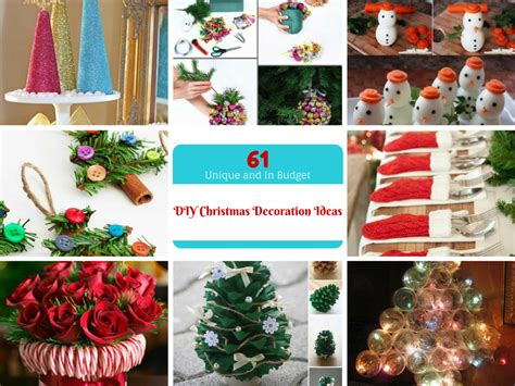 christmas diy home decor 61 easy and in budget diy christmas decoration ideas part iii
