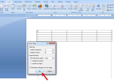 cara membuat halaman landscape di word 2007 cara mudah membuat tabel di microsoft word infodantutorial