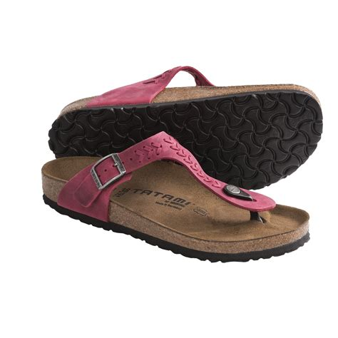 tatami sandals by birkenstock tatami by birkenstock gizeh woven sandals leather for
