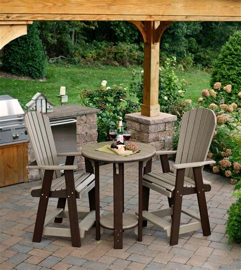 Polywood Pub Table and Chair Set from DutchCrafters Amish