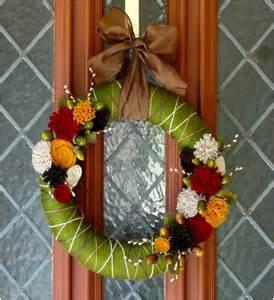 diy wreath 7 diy colorful autumn wreaths i think i can diy pinterest