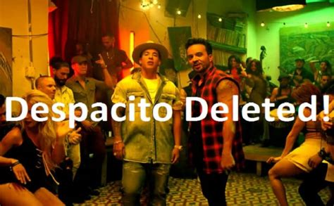 despacito youtube record despacito the most viewed song on youtube deleted well