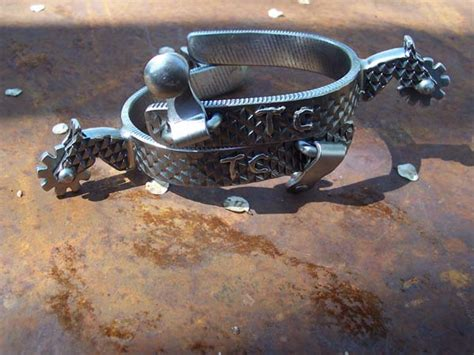 Handmade Roping Spurs - custom handmade spurs and bits large variety rowls to