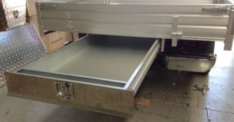 Trundle Drawers For Utes by Tray Tool Box Trundle Drawer 1500mm Ute Drawer