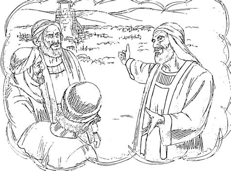 the parable of talents coloring sheet coloring pages