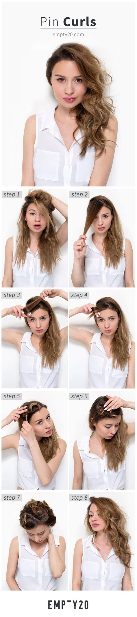 heatless hairstyles tutorials tutorial for heatless curls using bobby pins no curling