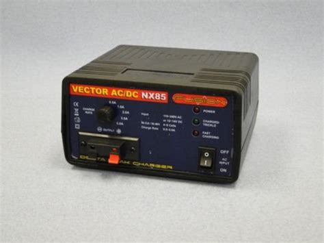 vector 28 rc boat battery charger fusion nx85 vector ac dc battery charger hardware for