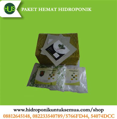 Paket Hemat Rp 50 000 paket hemat hidroponik nutrisi benih rw ph001