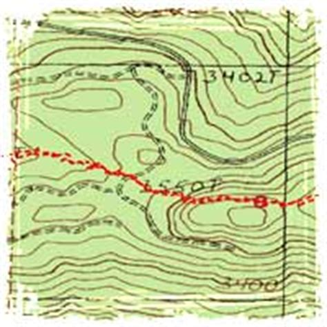how to read a topographic map navigation how to read topographic maps