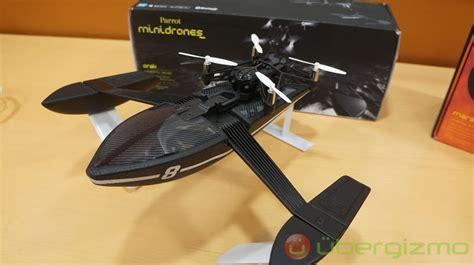 Mini Drone Parrot parrot minidrones review on ubergizmo