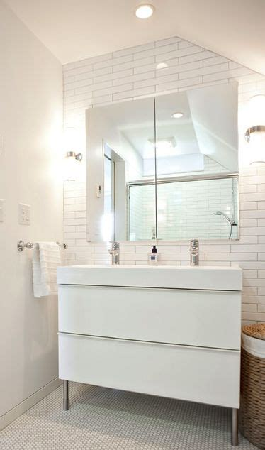 ikea bathroom cabinets white 134 best bathroom project images on pinterest small tile