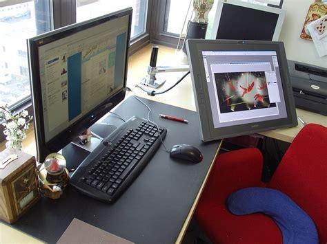 Cintiq Desk by Ah Jelly Cintiq On An Ergotron Arm Home