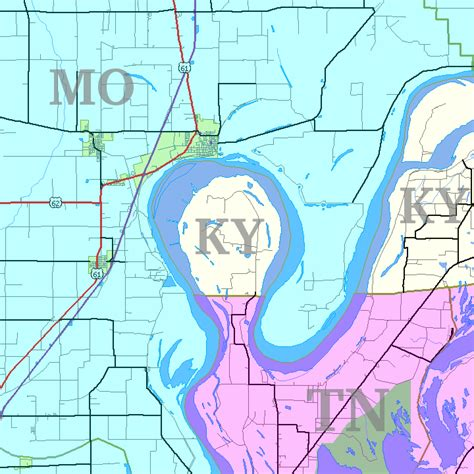 map missouri and kentucky part of kentucky is trapped in tennessee bubbleland
