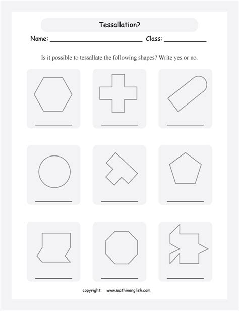 tessellation pattern worksheet all worksheets 187 tessellation worksheets printable