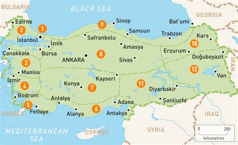 turkey on the map map of turkey turkey regions guides guides