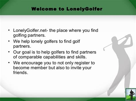 Find To Play Golf With No Need To Play Golf Alone Anymore Find A Golf Partner Today