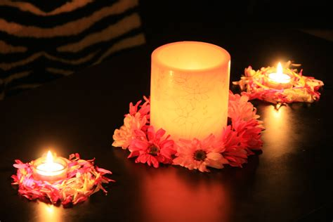 file flower decor with diwali candles jpg wikimedia commons