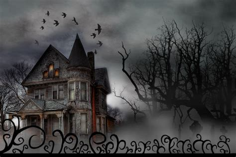 halloween haunted house haunted house happy halloween by morgannatorok on deviantart