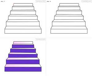 treppe zeichnen how to draw stair for step by step drawing tutorial