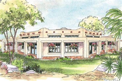 southwest house southwest house plans santa fe 11 127 associated designs