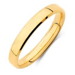 Wedding Bands Wedding Band In 18kt Yellow Gold
