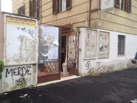 sede la repubblica roma ponte milvio vandali alla sede pd 1 di 4 roma