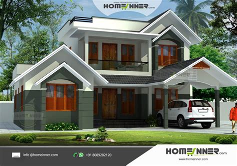 kerala home design 2011 archive kerala home design 2009 archive simple contemporary style kerala house elevation image