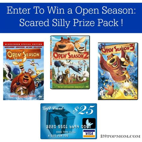 Prize Pack Giveaway - 1stopmom open season scared silly prize pack giveaway 1stopmom