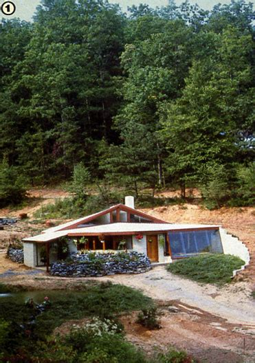 bermed earth sheltered homes building an earth sheltered home part ii green homes mother earth news