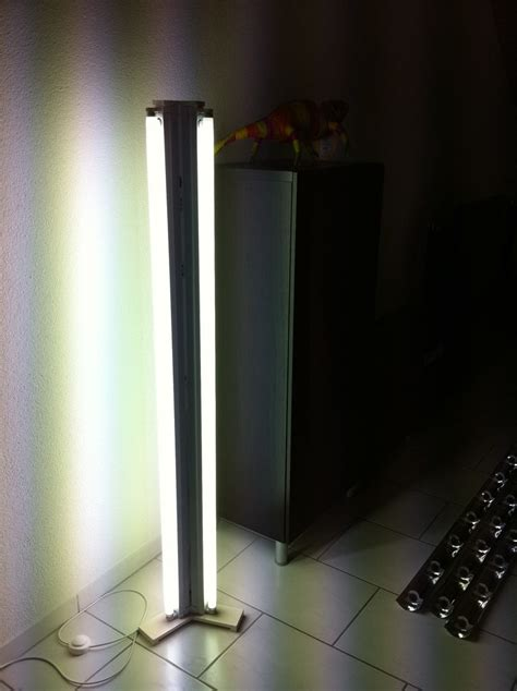 fluorescent floor lamp 9 steps with pictures