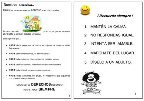 preguntas importantes acerca del bullying folleto trat 233 monos bien