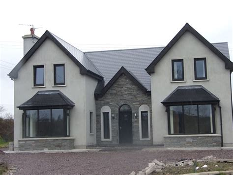 home design group northern ireland almost finished new storey and a half residence in kerry