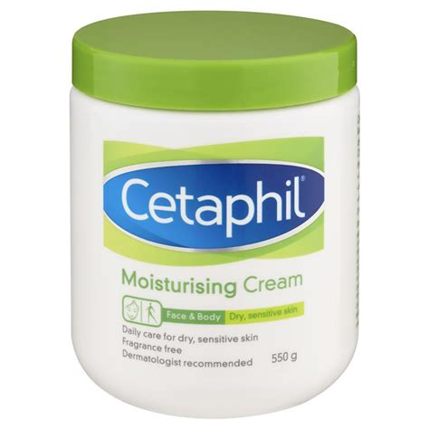 Cetaphil Moisturising buy cetaphil moisturising 550g at chemist