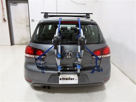 Bike Rack For Vw Golf by 1990 Volkswagen Golf Trunk Bike Racks Thule