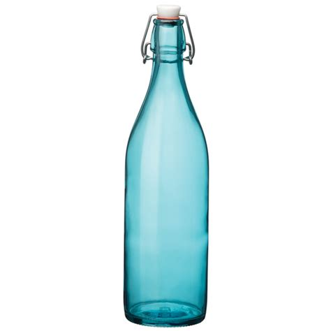 blue swing top bottles giara swing top bottle blue 1ltr