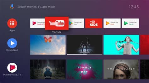 themes for android tv box android tv home the new launcher for android tv oreo