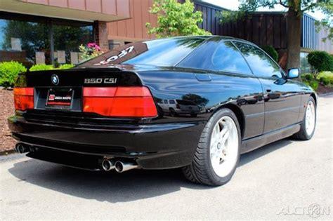 bmw 850 csi for sale 1995 bmw 850csi german cars for sale
